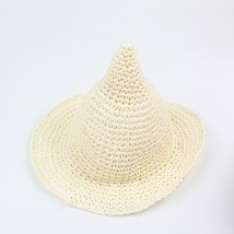 fashion baby girl summer sunhat beach floppy hat wide large brim straw natural sun hat thumb200