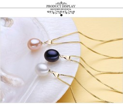 pendant for lovers brand party pearl pendants send s925 silver necklaces - $34.00