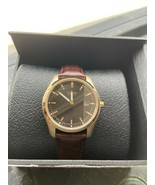 """Citizen Men's AU1043-00E """"Eco-Drive"""" Stainless Steel Watch Brown Leather Band - $123.75"""