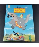 Dumbo Disney 1995 Childrens Large Hardcover Book Mouse Works 8.5 x 11.5 - $24.99