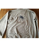 Vintage Levis Jeans Button Fly Sweatshirt Gray Housefly Unisex XL Made U... - $29.44