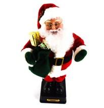 "Holiday Creations Noel Musical 15"" Santa Plays Christmas Melodies See Video - $49.49"