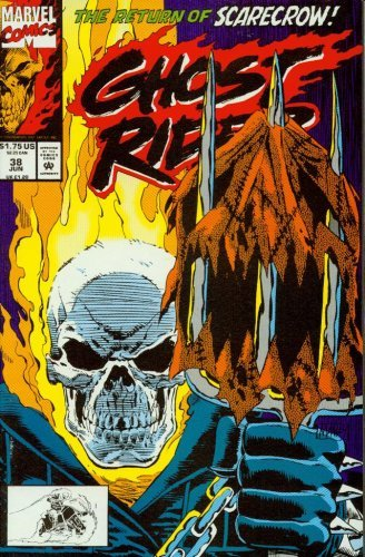 Ghost Rider #38 The Return of Scarecrow! [Comic] [Jan 01, 1990] Marvel