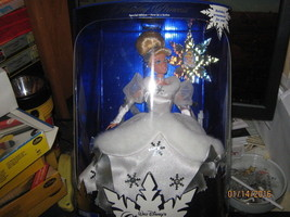 Disney'S Cinderella Holiday Princess 1996 Barbie Doll-FREE SHIPPING - $35.00