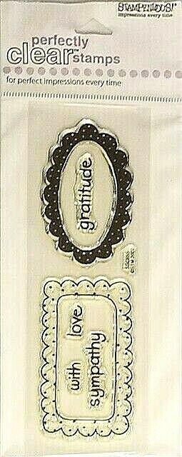 Stampendous Scallop Frames Stamp Set #SSC655