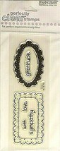 Stampendous Scallop Frames Clear Stamp Set #SSC655 - $3.99