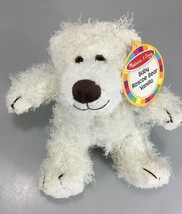 "Melissa and Doug Baby Roscoe Bear Vanilla 7730 Teddy Bear Plush 9"" NEW - $24.45"
