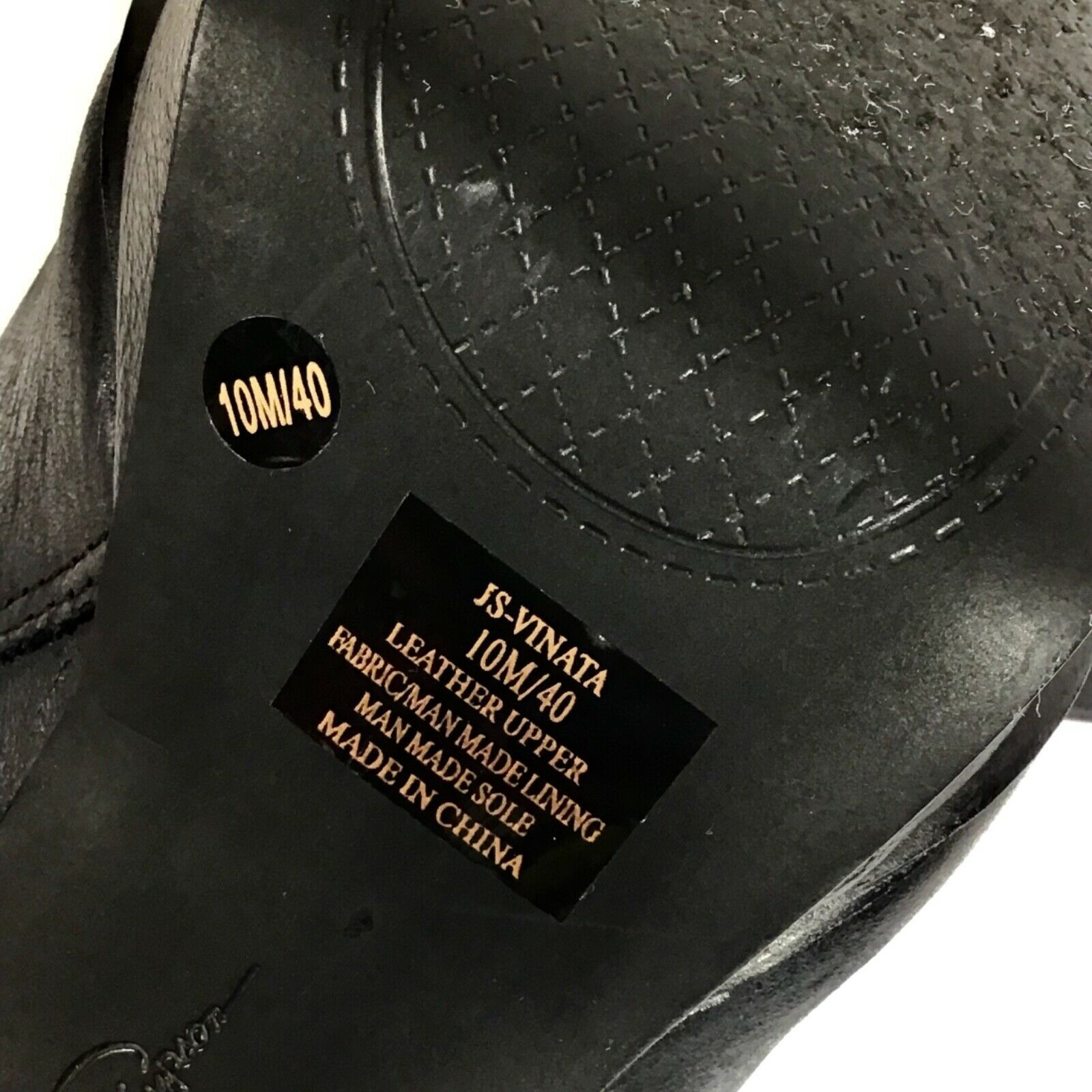 Jessica Simpson Vinata 10M Ankle Bootie Platform Stiletto Heels Chains Side Zip  image 8