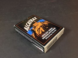 Alcatraz Rules Regulations Playing Cards 2003 Piatnik Vienna Rare Free Shipping - $18.69