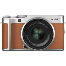 FUJIFILM X-A7 Digital Camera (Camel) with XC 15-45mm F3.5-5.6 Silver lens - $742.63
