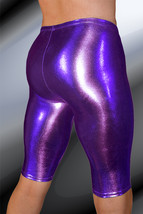 ThunderBox Nylon Spandex Chrome Purple Jammer Shorts S, M, L, XL - $28.00