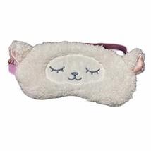 Lovely Alpaca Plush Eyeshades Cartoon Sleeping Eye Mask Adjustable Blackout Eye