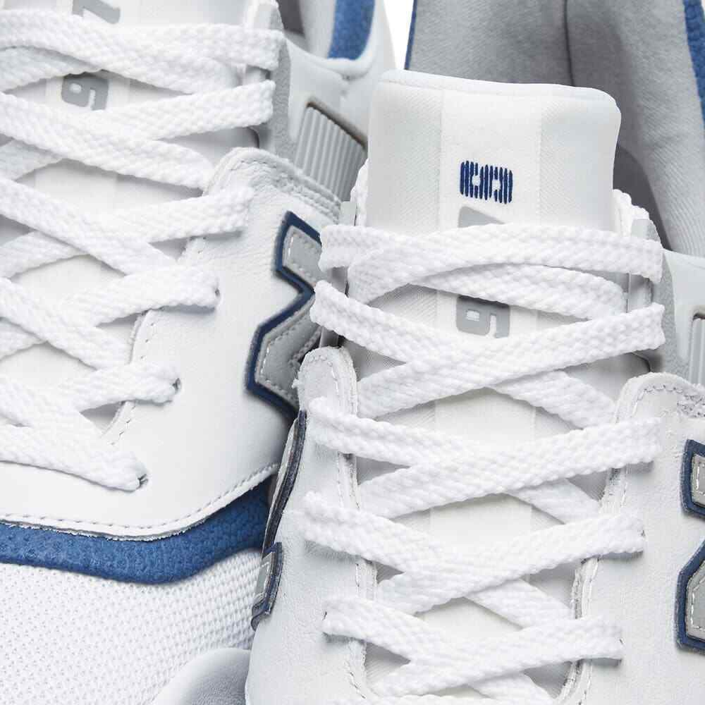 New Balance 997 Mens Trainers White/Blue Sneakers image 4