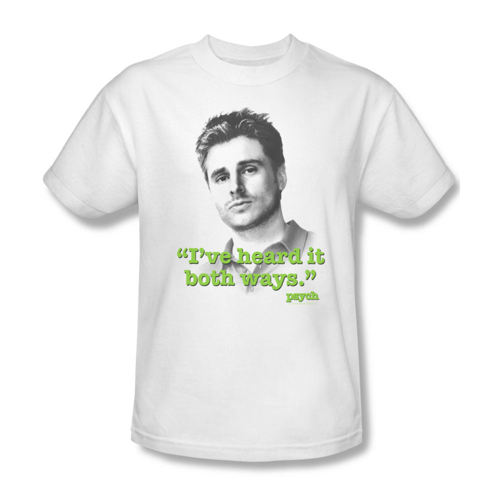 Psych i ve heard it both ways comedy shawn spencer gus for sale online graphic tee nbc431 at