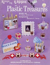 To Baby With Love 13 Projects Kappie Plastic Canvas Pattern Book 102 - $3.12