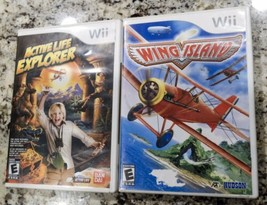 Active Life: Explorer and Wing Island (Nintendo Wii) - $16.97