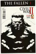 Marvel Civil War II #1 FALLEN Diamond Retailer Summit Baltimore Variant ... - $15.83