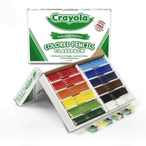 Crayola Colored Pencils, Bulk Classpack, Classroom Supplies, 12 Assorted... - $39.94