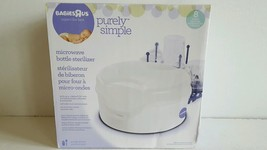 New Babies R Us Purely Simple Microwave Bottle Sterilizer Ship Fast w Tr... - $13.99