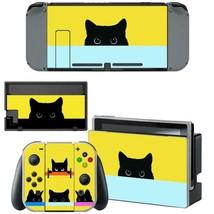Nintendo Switch Console Dock Vinyl Skin Stickers Decals Cute Kitten Cat Animal - $9.60