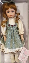 "TREASURES IN LACE ~Country Girls~ Collectible Vintage Porcelain Doll – 13"" - $37.57"