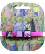 Roxo Show Your Faith St. Therese Little Flower Interchangeable Bracelet ... - $9.75