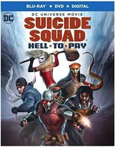 DCU: Suicide Squad: Hell To Pay [Blu-ray+DVD+Digital] (2018)