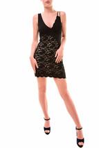 Free people Womens's Lower East Side Lace Mini Dress Black Size XS RRP £... - $91.78