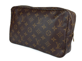 LOUIS VUITTON TROUSSE TOILETTE 28 Monogram Canvas Cosmetic Pouch Bag LP2603 - $229.00
