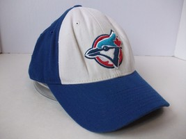 Distressed Toronto Blue Jays Hat 7 5/8 Fitted Repaired Baseball Cap - $15.36