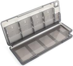 Black 10 in 1 Game & Memory Card Holder Case Storage Box for PS Vita (2 Packs)