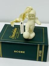 "Snowbabies ""SCORE"" XVIII - Mini Christmas Ornament by Department 56 - MINT - $16.94"