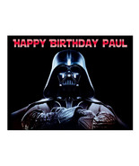 Star Wars Darth Vader edible cake image topper party cake decoration sheet - $7.80