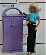 Barbie Doll Closet & Barbie Doll - $25.00