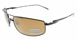 Serengeti Lamone Satin Black / Drivers Gold Polarized Sunglasses 7709 - $296.01