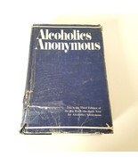 Alcoholics Anonymous 3rd Edition 1976 AA Big Blue Book Hardcover Dust Ja... - $36.99
