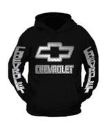 Silver Chevy Hoodie Sweatshirt - $39.99