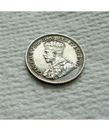 CANADA SILVER 10 Cents 1936 Coin! 80% silver, 20% copper Weight: 2.32 gr... - $9.27