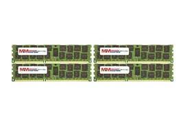 MemoryMasters 64GB (4x16GB) DDR3-1333MHz PC3-10600 ECC RDIMM 4Rx4 1.35V Register - $194.04