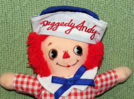 """8"""" KNICKERBOCKER RAGGEDY ANN ANDY Vintage Applause Dolls Embroidered Eyes TAIWAN image 2"""
