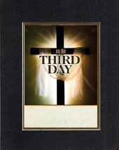Poems for Easter - On the third day. . . 8 x 10 Inches Biblical/Religious Verses - $11.14