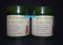 Two pack: Nu Skin NuSkin Pharmanex Probio PCC 30 Capsules SEALED x2 - $70.00
