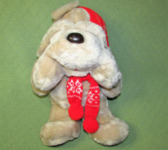 "19"" KRIS KRINKLES 1984 VINTAGE COMMONWEALTH CHRISTMAS PLUSH with POMPOM ... - $28.05"