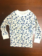 babyGap Boy's Long Sleeve Shirt Ivory / Blue 4 yrs, 5 yrs - $5.85