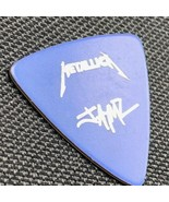 Metallica Guitar pick James Hetfield ESP vintage heavy metal signature b... - $84.15