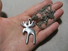 Mid.Century /60's Sweden R.Tennesmed Pewter/Metal Modern Moose Pendant N... - $24.99