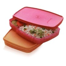 TUPPERWARE Classic Slim Lunch Box  1 Ps Free Shipping Low Price - $10.88