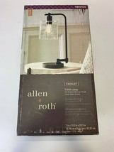 Allen+Roth Tapsley Table Lamp Oil Rubbed Bronze Finish - $50.00