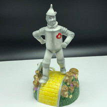 Wizard Of Oz Music Box Enesco Figurine Statue Porcelain If Tinman Only Had Heart - $123.75