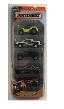 Matchbox 2016 Desert 5-pack (retired) - $8.99